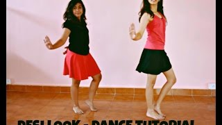 Desi Look- Sunny Leone: Bollywood Dance Tutorial | Dynamic Dance Duo