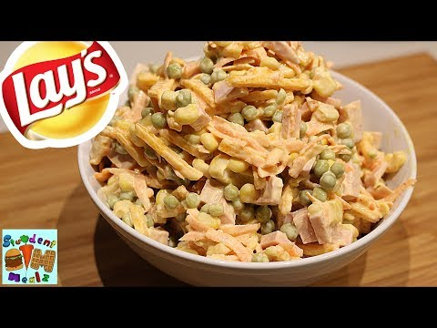 10 Minute Sausage and Vegetables Lays Salad