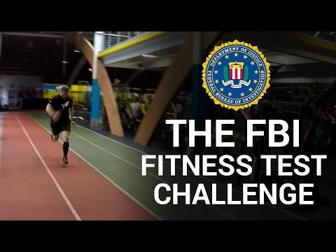 The FBI Fitness Test Challenge!