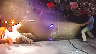 Eddie Guerrero has Big Show come face-to-face with a sewage truck: SmackDown, Oct. 9, 2003