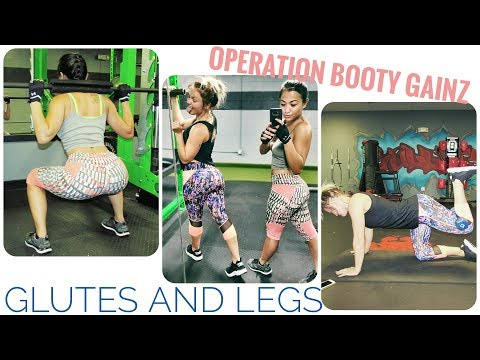 GROW THE BOOTY! LEG AND BUTT WORKOUT! TARGETING GLUTES!