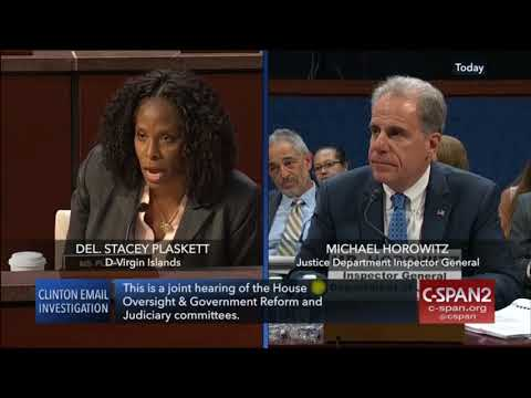 PART I: House Hearing on Inspector General Report (MYE)