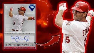 *98* JIM EDMONDS DEBUT! BEST FREE CARD?! MLB THE SHOW 19 RANKED SEASONS DIAMOND DYNASTY!