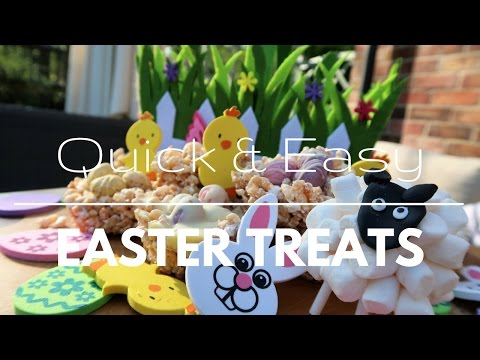 Quick & Easy Easter Treats | No Bake