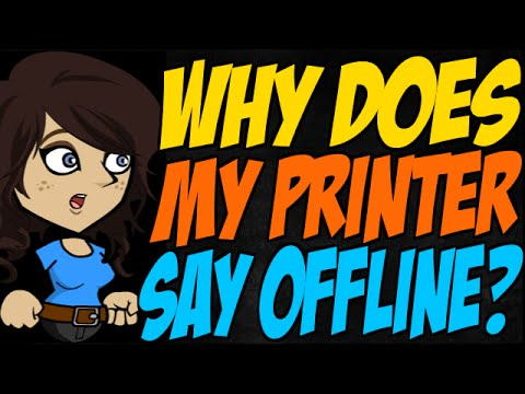 Why Does My Printer Say Offline?
