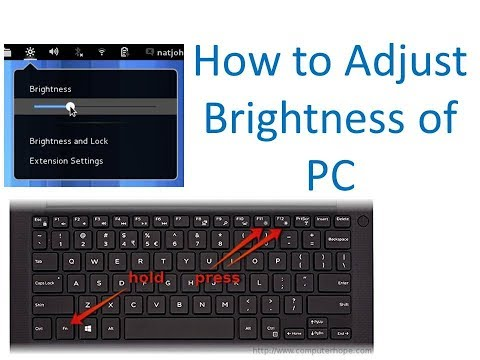 How to adjust brightness of laptop/computer/desktop display without keyboard!!Easy Solution Academy