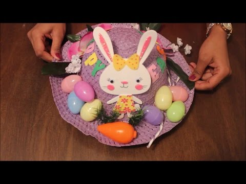 DIY Easter Hat Decoration - 1 | Easter Bonnet Tutorial - 1