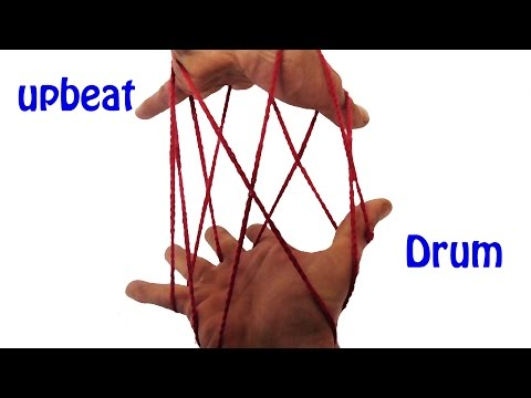 Awesome 3D String Figure/String Trick: Learn How To Make The Drum
