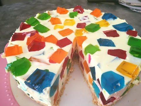 Jelly Cheesecake (No Bake )