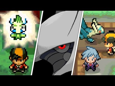 Pokémon HeartGold / SoulSilver - All Mythical Pokémon Events