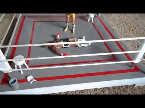 neca Rocky Custom Boxing Ring