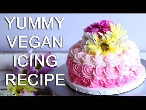 How-To Make The BEST VEGAN ICING Recipe - With The Edgy Veg!