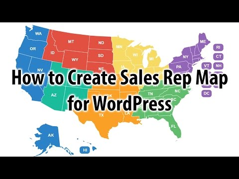 How to Create Sales Regions in the U.S. Map for WordPress
