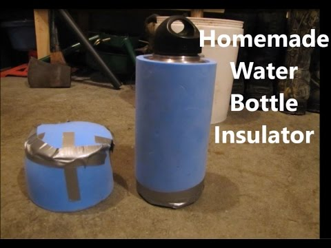 Homemade Water Bottle Insulator