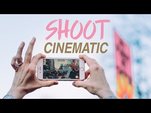 How to Shoot Smooth CINEMATIC VIDEO on your iPhone!
