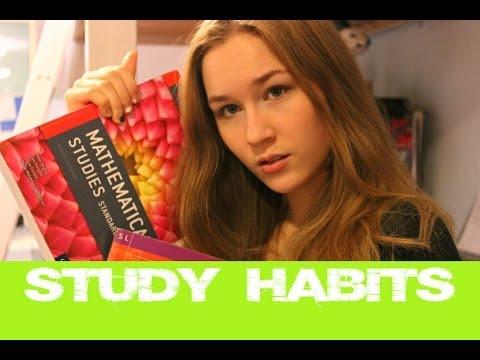 My Awesome Study Habits | KatChats