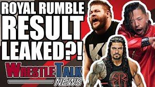WWE Royal Rumble 2018 Result LEAKED?!   WrestleTalk News Jan. 2018