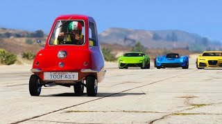 GTA 5 - Which Car Is The Fastest?