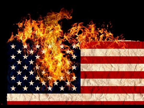 Burning The American Flag - Is It Legal?  Should It Be Illegal?  Burn Away I Say