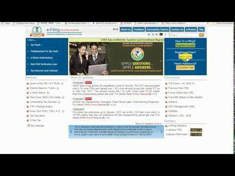 How to check and download TDS Detail or 26AS on Income Tax portal