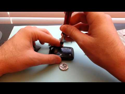 How to replace change Toyota Prius Smart Key Battery Replacement