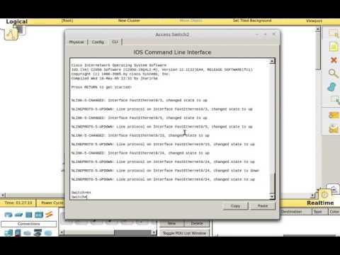 Erasing cisco switch config