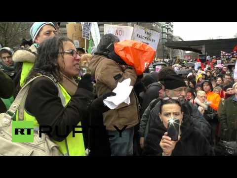 UK: March for Homes - Hundreds march for housing in London