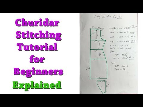 Churidar Top (kurti, kameez ) cutting malayalam, churidar