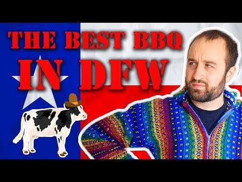 I Try Every BBQ Restaurant in DFW Airport and (barely) Survived - What to Eat in DFW Airport