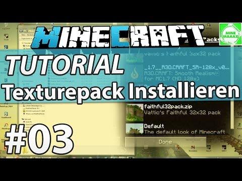 [1.8.1] Minecraft Texturepack Installieren (Resourcepack) - Tutorial + Download [Deutsch/HD]