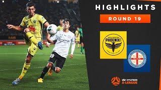 Highlights: Wellington Phoenix v Melbourne City FC – Round 19 Hyundai A-League 2019/20 Season