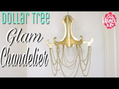 Dollar Tree DIY Chandelier