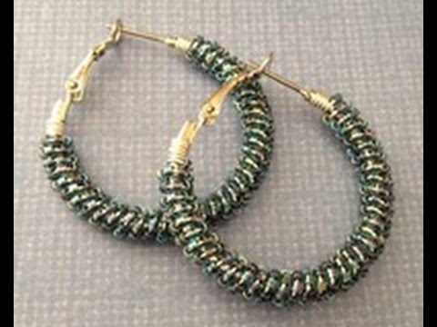 Katie Hacker shows How To Embellish Hoop Earrings on Beads, Baubles & Jewels (1808-3)