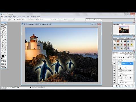 Tutorial Photoshop |Cara Memotong Gambar Anda Sendiri di Photoshop