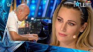 La dramática historia de este PIANISTA que te emocionará | Audiciones 10 | Got Talent España 2021