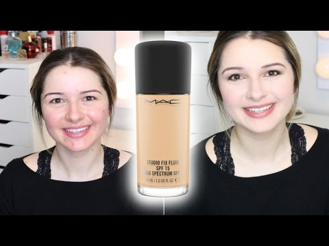 MAC STUDIO FIX FLUID FOR DRY/ACNE SKIN | FOUNDATION FRIDAY
