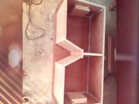 Membuat box speaker line array mantab. Order add 7951836C