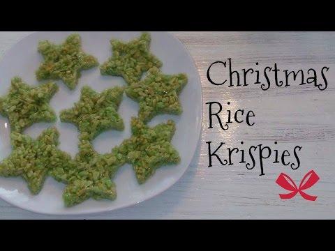 Christmas Rice Krispies Vlogmas Day 10