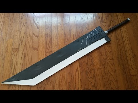 Building the Buster Sword Pt 2: Painting!
