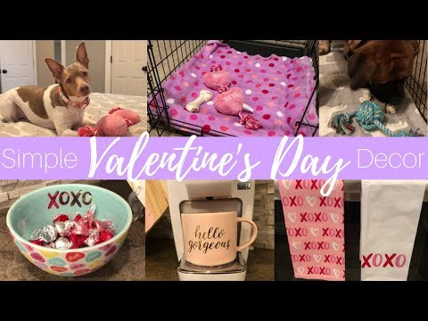 Simple Valentine's Day Decor | Home Decor | Decorate With Me