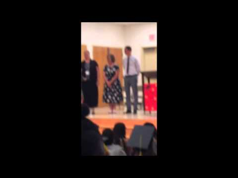 Monica's 6th grade promotion 6/19/15