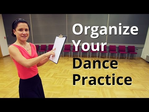 Organize Your Ballroom Dance Practice: Exercises and Routines