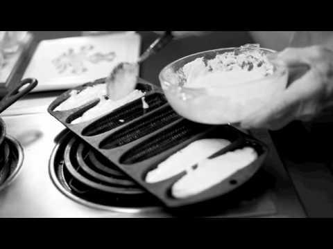 Margaret Tucker Makes Cornbread Sticks