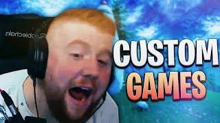 😱🤑 Custom Games Mit Preisgeld | Er Rasiert Die Lobby | Fortnite Battle Royale