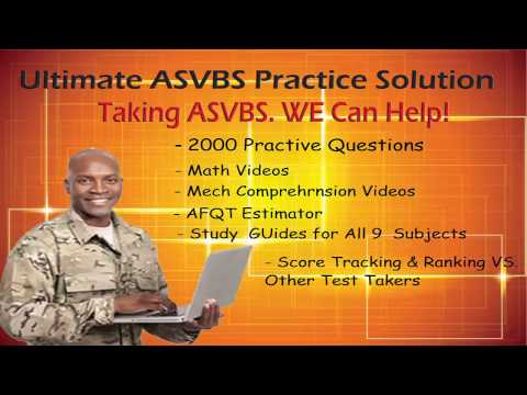 How To Score High on The ASVAB