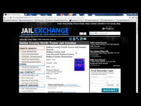 Dallas County Jail Inmate Search - Dallas Jail Info
