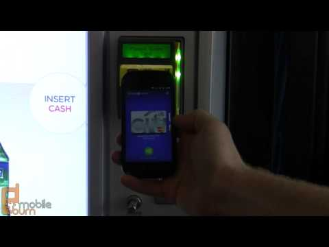 Google Wallet purchase demo with Google Nexus S
