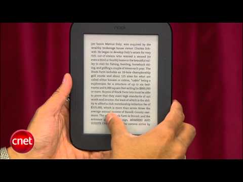 CNET Prizefight: Amazon Kindle vs. Barnes and Noble Nook Touch