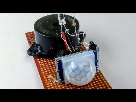 How To Make Door Alarm With Motion Sensor