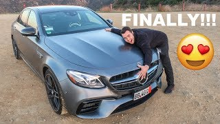 FINALLY!!! TAKING DELIVERY OF MY 2018 MERCEDES AMG E63S